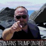ALEX JONES WARNS TRUMP ON RED FLAG LAWS