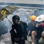 FIREBOMBS, TEARGAS & MAYHEM: HONG KONG RAGES AFTER PROTEST LEADERS ARRESTED