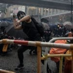"""BURN WITH US"" – PROTESTERS CLASH WITH RIOT POLICE AT HONG KONG AIRPORT AMID SURGE OF VIOLENCE"