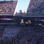 President Trump Receives Thunderous Applause At LSU-Alabama Game