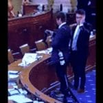 Video: Reuters Photographer Caught Sneaking Photos of Impeachment Hearing Docs