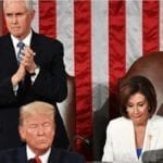 Nasty Pelosi Does Not Applaud as Trump Announces Scholarship for 4th Grade Student